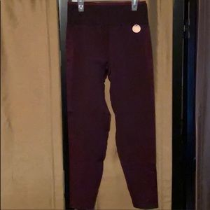 Large latest style of legging by PINK, burgundy🌺